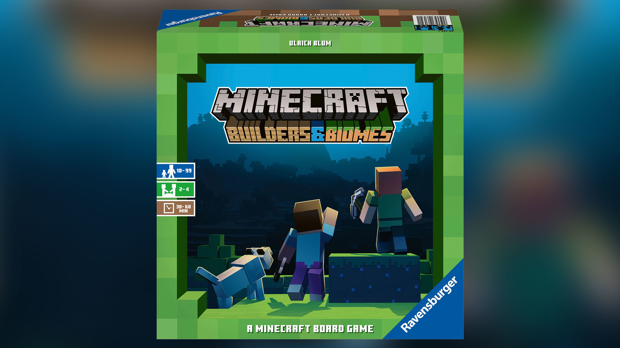 Minecraft Builders & Biomes game box