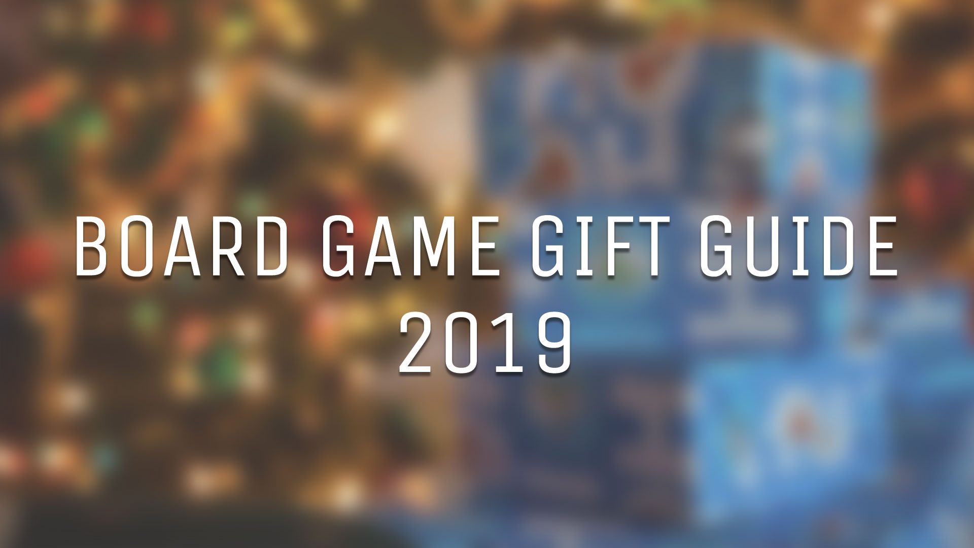 The Rook Room Board Game Gift Guide 2019 Header Graphic