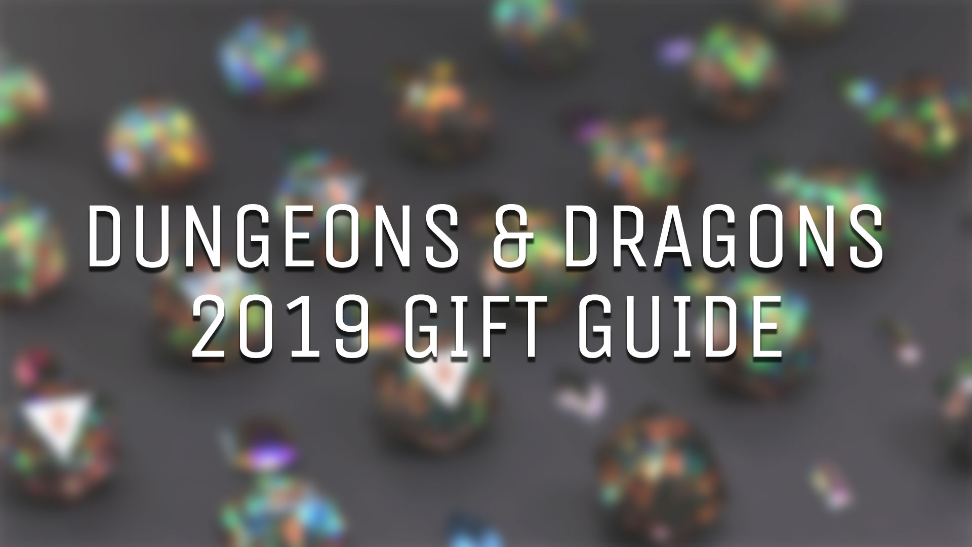The Rook Room Dungeons & Dragons 2019 Gift Guide Header Image