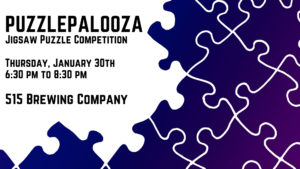 The Rook Room Presents Puzzlepalooza Jigsaw Puzzle Competition Header Graphic