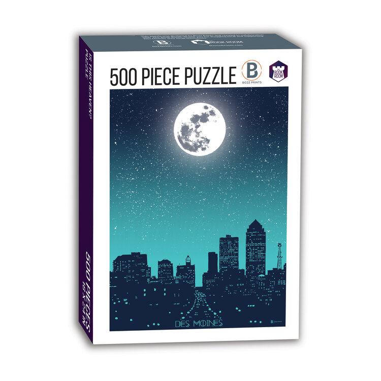 Moon Over Des Moines Puzzle
