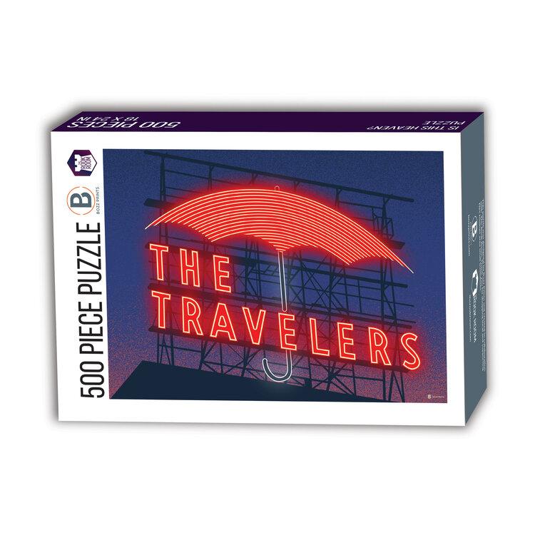 The Travelers Umbrella Des Moines Puzzle