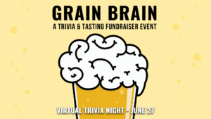 Grain Brain Trivia and Beer Tasting Event Banner Image